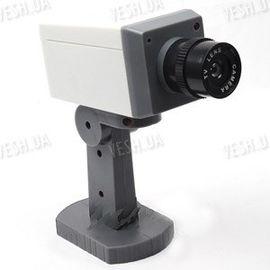 Муляж камеры, фальшивая камера видеонаблюдения (на подставке), фото 1