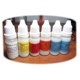Невидимые чернила в обычном свете и видимые в УФ (ультрафиолетовые UV CMYK СНЧП) чернила для струйного принтера 6 цветов, фото 1