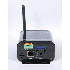 WiFi IP видео сервер H.264 одноканальный со звуком и датчиками сигнализации (модель GT-DVS-WH900), фото 1