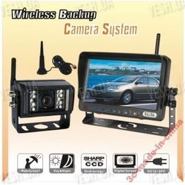 Камера беспроводная автомобильная задняя для фур монитор 7' LCD, фото 1