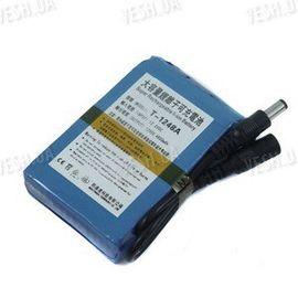 12V литий-полимерный перезаряжаемый аккумулятор 4800 mAh для автономного питания CCTV камер видеонаблюдения, фото 1