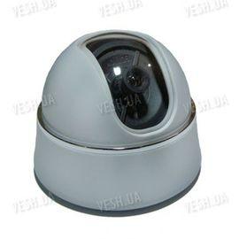 Цветная купольная видеокамера c 3D креплением, 1/3 SONY, 520 TVL, 0,5 LUX (модель 412 DH), фото 1