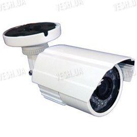 Цветная уличная (наружная) видеокамера с IR подсветкой до 15 метров, 1/3 Sony, 520 TVL, 0 LUX (модель 640 W), фото 1
