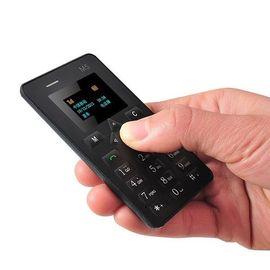 Картфон ультра тонкий мобильный телефон AIEK M5 BLACK, фото 1