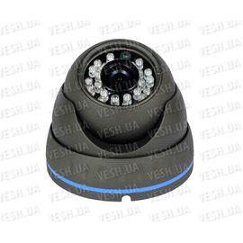 """Наружная купольная CCTV цветная охранная камера видеонаблюдения 1/3"""" COLOR SONY Super HAD, 540 TVL, 0 LUX, ИK до 20 метров (модель NIRE540), фото 1"""