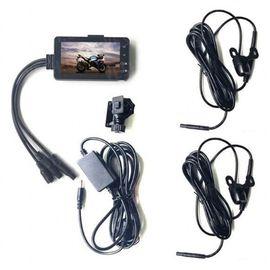 Видеорегистратор для мотоцикла с двумя камерами Leshp SE300, FullHD 1080P, угол 140 градусов, фото 1