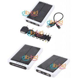 Солнечная батарея аккумулятор 12000mAh для всех телефонов, iPod, iPhone, iPad, USB, фото 1