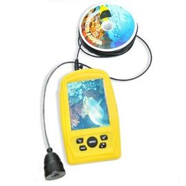 """Подводная инспекционная камера Sharp для рыбалки с 20-ю метрами кабеля и 3.5"""" влагозащитным монитором (мод. FF-3308-8), фото 1"""