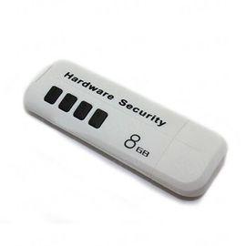 USB флешка на 8 Gb со встроенной аппаратной защитой от считывания и защитой данных паролем (модель АК-210), фото 1