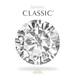 Муассанит Charles & Colvard FOREVER CLASSIC бриллиантовая огранка, фото 1