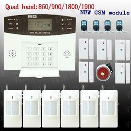 Универсальная GSM сигнализация с клавиатурой и LCD дисплеем с поддержкой проводных и беспроводных датчиков (модель GSM-007), фото 1