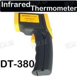 Пирометр - цифровой электронный бесконтактный инфракрасный термометр DT380 -50°C ~ 380°C, фото 1