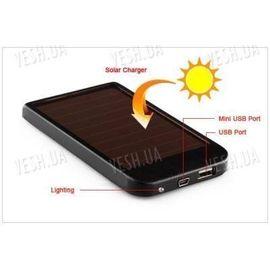1500мАч универсальная USB солнечная батарея аккумулятор для всех телефонов, фото 1
