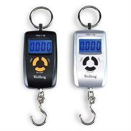 Портативные электронные цифровые подвесные весы с дискретой 10 грамм и макс. весом 45 кг WeiHeng, фото 1