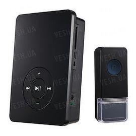 Беспроводной дверной звонок MP3 с поддержкой карт памяти SD, фото 1