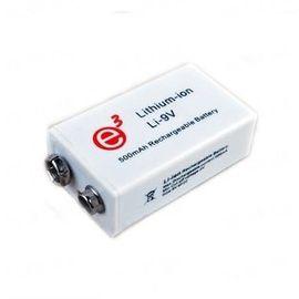 """Самый ёмкий в мире аккумулятор 9V типа """"Крона"""" с ёмкостью 500 mAh, рассчитанный на 1000 циклов зарядки, фото 1"""