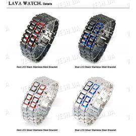 Эксклюзивные наручные LED часы-браслет Iron Samurai, фото 1