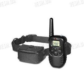 Собачий ошейник - электрошокер с дистанционным управлением с LCD дисплеем для контроля, тренировки и дрессировки собак на расстоянии до 300 метров, фото 1