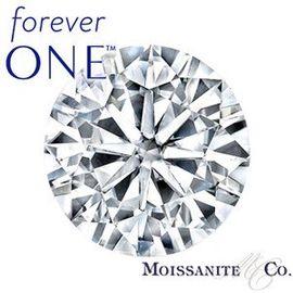 Муассанит Charles & Colvard FOREVER ONE бриллиантовая огранка, фото 1