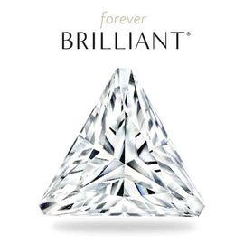 Муассанит Charles & Colvard FOREVER BRILLIANT треугольная огранка, фото 1