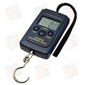 Портативные электронные цифровые подвесные весы с дискретой 20 грамм и макс. весом 40 кг, фото 1