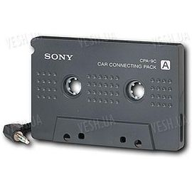 Sony CPA-9C кассета адаптер для автомагнитолы для (XM/iPad/iPod/iPhone2,3G,3GS,4), фото 1