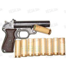 """Средства самообороны сигнальный пистолет (ракетница) """"Geco"""" + 9 осветителей, фото 1"""
