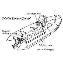 Телефлекс лодочный 4 метра TRC-040, фото 1