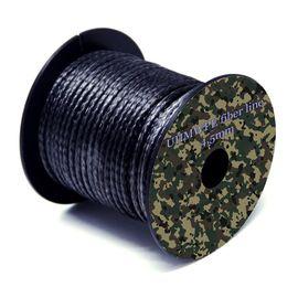 UHMWPE нить выживания (толщина 4,5мм, цвет черный, выдерживает - 2500 кг), фото 1