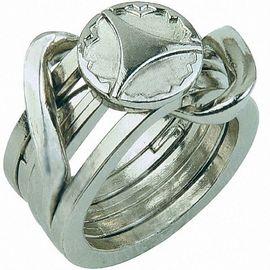 5* Перстень-2 (Cast Puzzle Ring II), фото 1