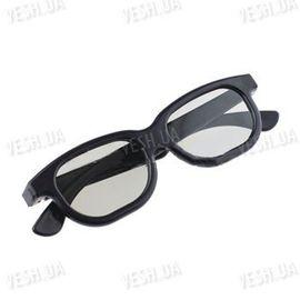 Пластиковые 3D очки с круговой поляризацией для просмотра 3D фильмов в кинотеатрах типа Imax, фото 1