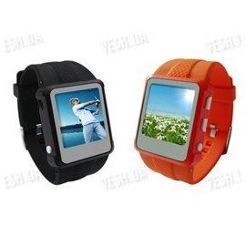 """Мультимедийные MP3/MP4 часы - видео плеер с 8 Gb памяти и 1.5"""" дюймовым дисплеем в пластиковом корпусе, фото 1"""