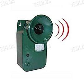 Мощный уличный влагозащитный ультразвуковой отпугиватель животных с детектором движения (модель USR-150), фото 1