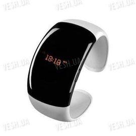 """Стильный дамский жемчужно - розовый bluetooth браслет - часы с определителем номера звонящего, виброзвонком и функцией """"антиутеря телефона"""", фото 1"""