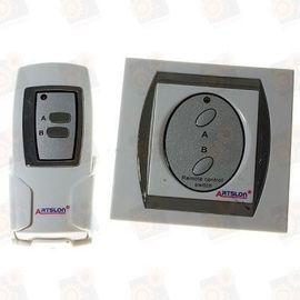 Двухканальный дистанционный включатель/выключатель электрических приборов, фото 1