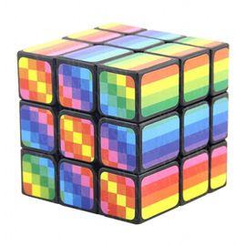 Кубик Рубика 3х3х3 Радужный, фото 1