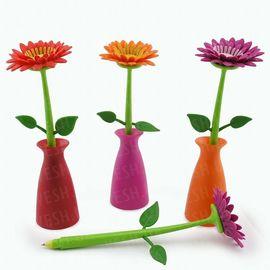 Ручка Цветок Гербера в вазе, фото 1