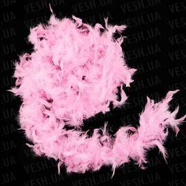 Боа из перьев 40г розовое, фото 1
