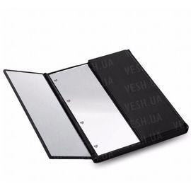 LED Зеркало для макияжа в виде книжечки (Черное), фото 1