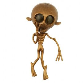 Лизун большой инопланетянин, скелет, фото 1