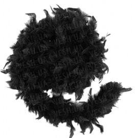 Боа из перьев 40г черное, фото 1