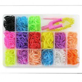 Резиночки для плетения Органайзер 1000 шт Средний, фото 1