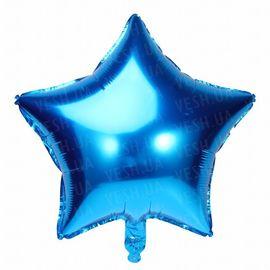 Шарик (45см) Звезда синяя, фото 1