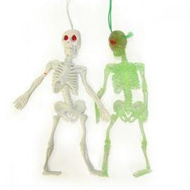 Резиновый скелет 12 см, фото 1