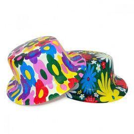 Шляпа Цилиндр пластик с принтом, фото 1