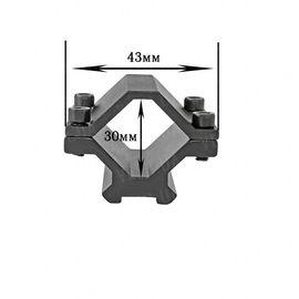 Крепление на оружие для фонаря M 048 (планка Вивера 10 мм), фото 1