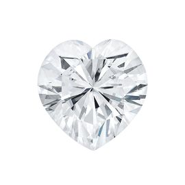 Муассанит Charles & Colvard Forever One 0.23CTW огранка Heart Shape Исключительно белый DEF, фото 1